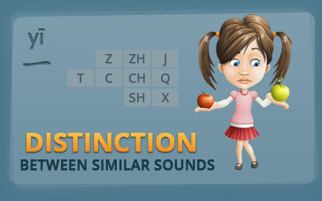 Infographic Chinese Pronunciation Hard Distinction between similar sounds